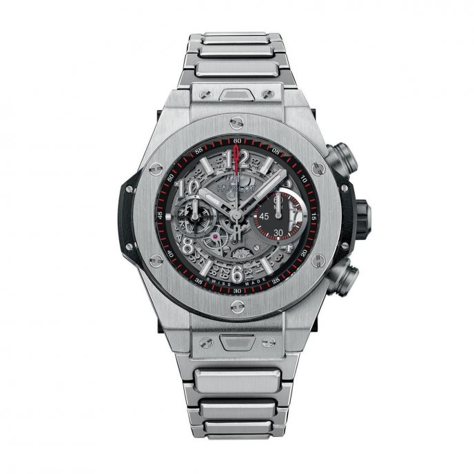 hublot Big Bang Unico Titane Bracelet 411.NX.1170.NX Watch Face View