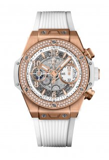 Big Bang Unico King Gold White Diamonds