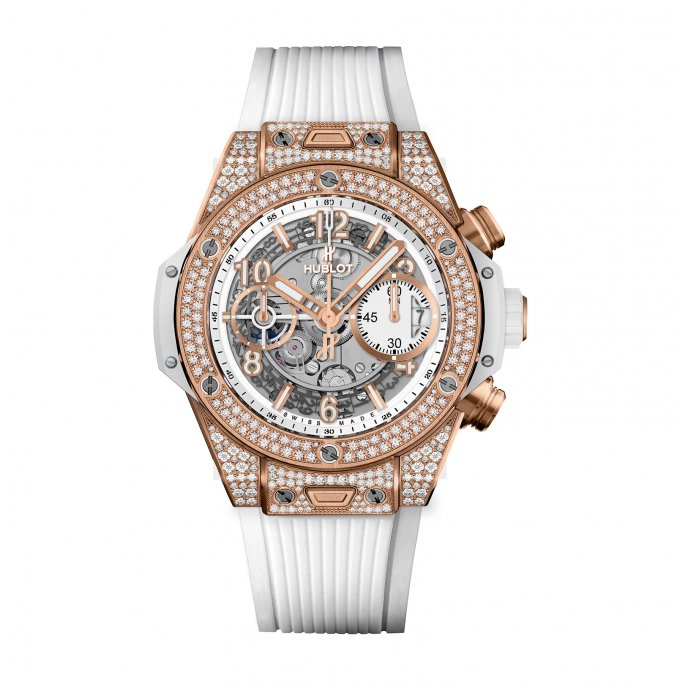 Big Bang Unico King Gold White Pavé