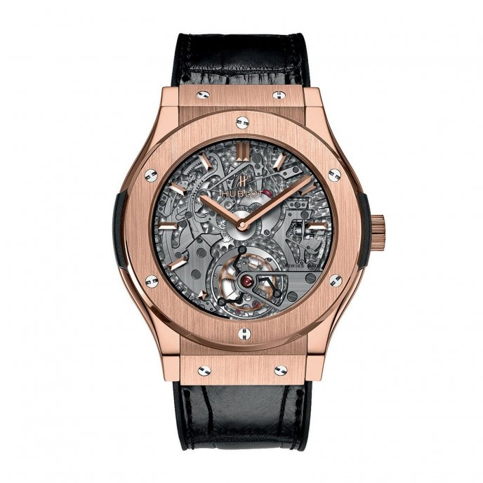 Hublot Classic Fusion Tourbillon Répétition Minutes Cathédrale 504.OX.0180.LR Watch-face-view