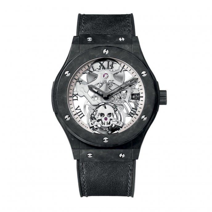 Hublot Classic Fusion Tourbillon Skull 505.UC.0170.VR.SKULL Watch-face-view