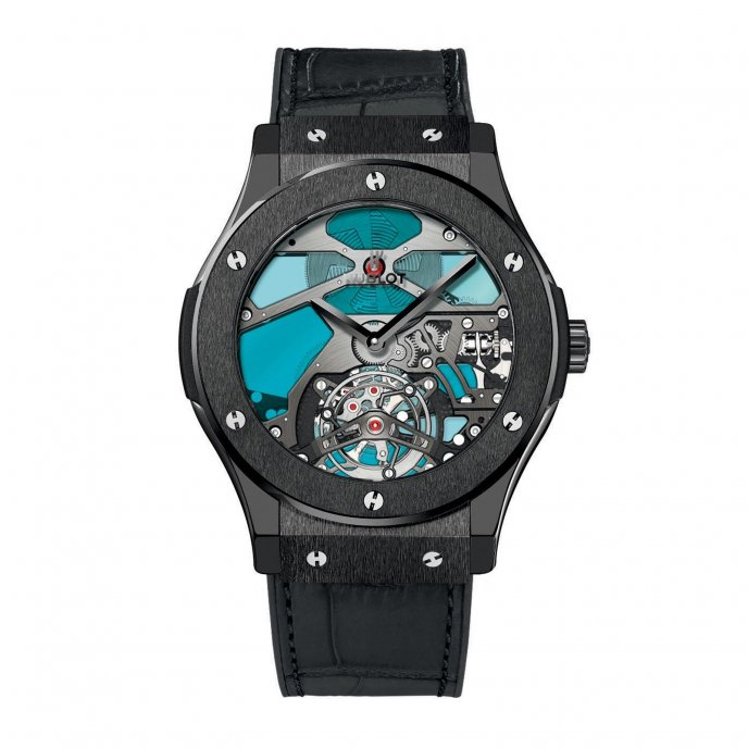 Hublot Classic Fusion Tourbillon Vitrail 502.CX.0003.LR Watch-face-view