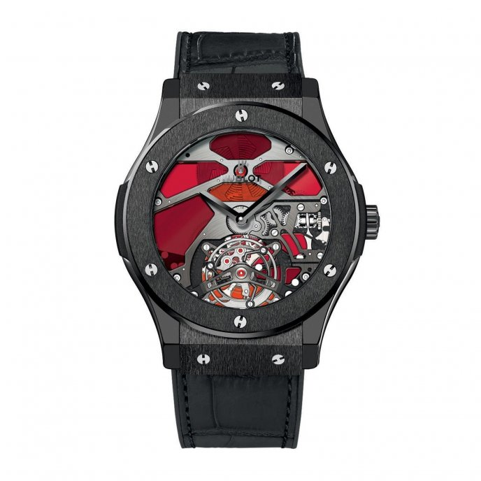 Hublot Classic Fusion Tourbillon Vitrail 502.CX.0001.LR Watch-face-view