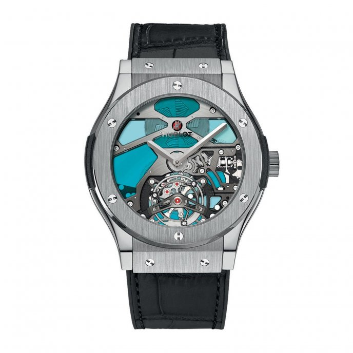 Hublot Classic Fusion Tourbillon Vitrail 502.NX.0003.LR Watch-face-view