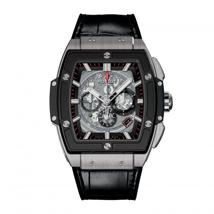 Hublot Spirit of Big Bang 601.NM.0173.LR - watch face view