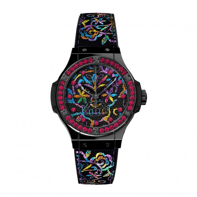 Big Bang Broderie Sugar Skull