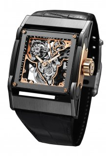Furtif 44mm Tourbillon Squelette