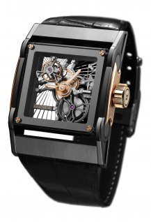 Furtif Skeleton Tourbillon