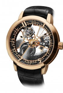 IO 49mm Skeleton Tourbillon Diamond Sand