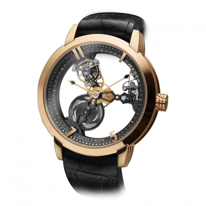 Hysek IO 49mm Tourbillon Squelette watch-face-view