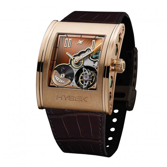Hysek Kilada 41mm Tourbillon watch-face-view