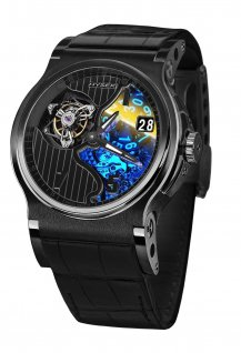 Verdict 45mm Tourbillon PVD Noir