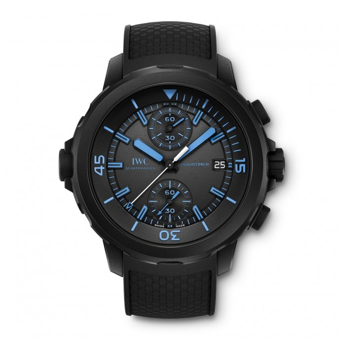 IWC Aquatimer Chronographe Edition « 50 Years Science for Galapagos » IW379504 - watch face view