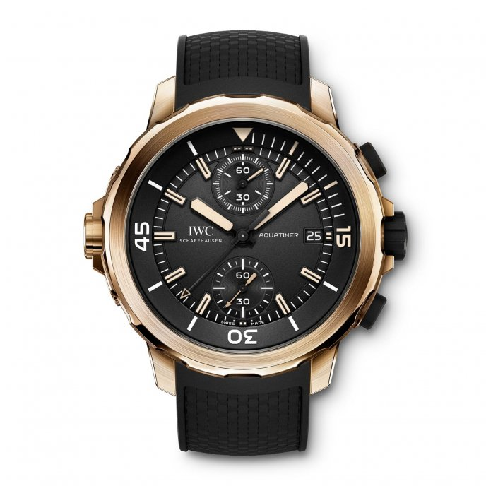 IWC Aquatimer Chronographe Edition « Expédition Charles Darwin » IW379503 - watch face view