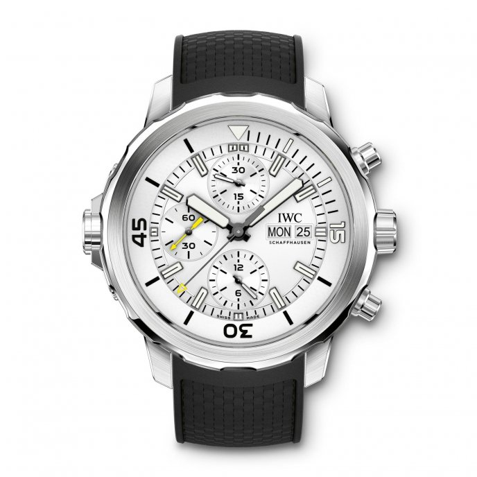 IWC Aquatimer Chronographe IW376801 - watch face view
