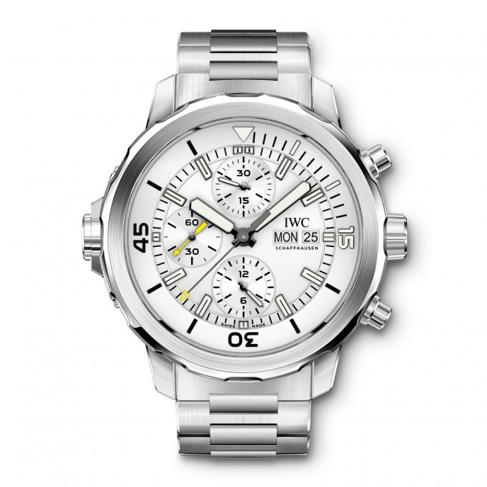 IWC Aquatimer Chronographe IW376802 - watch face view