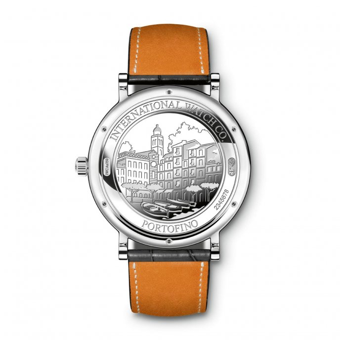 IWC Portofino Automatic IW356514 watch-back-view