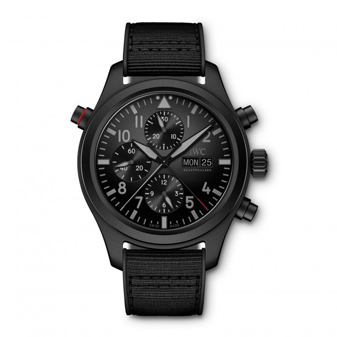 Double Chronograph Top Gun Ceratanium