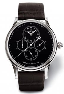 Chrono Monopusher Black Enamel