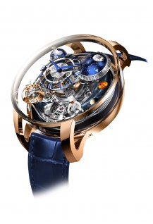 Astronomia Maestro Tourbillon Gravitationel Tri Axial Répétition Minute Carillon