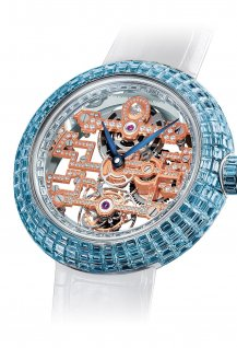 Brilliant Skeleton Tourbillon Art Deco