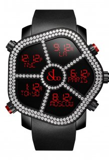 Ghost Two Rows White Diamond bezel