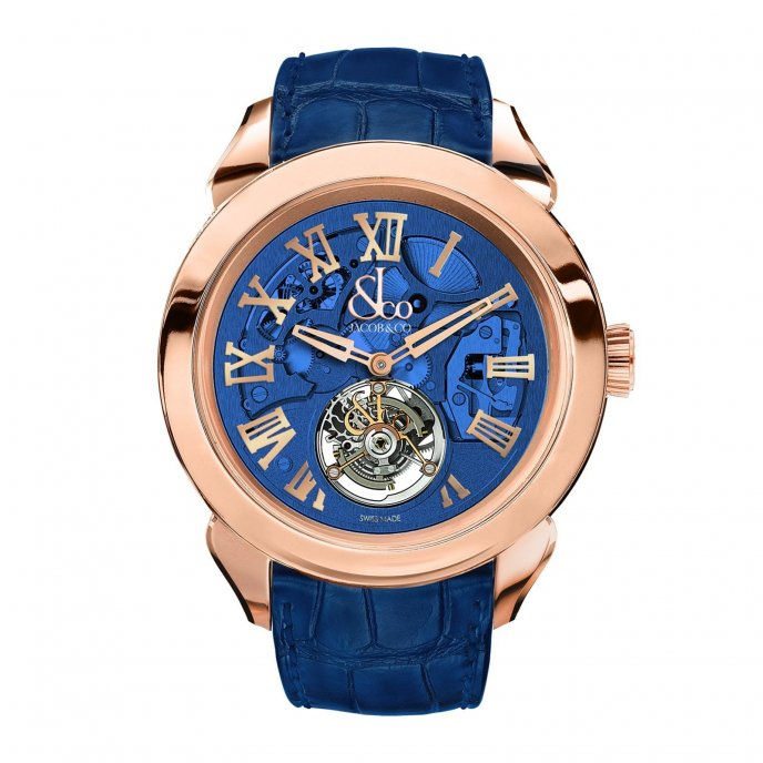 Jacob & Co. Palatial Tourbillon Hours & Minutes 150.520.40.NS.QB.1NS - watch face view