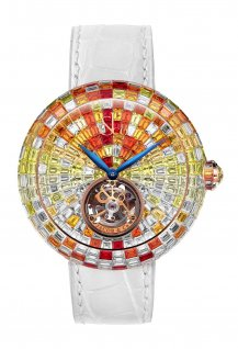 Brilliant Arlequino Flying Tourbillon Sunset