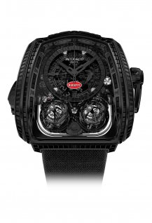 "Twin Turbo Furious ""La Montre Noire"" Bugatti Edition"