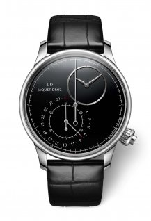 Grande Seconde off-centered Chronograph Black Onyx