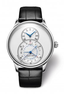 Grande Seconde Dual Time Argent