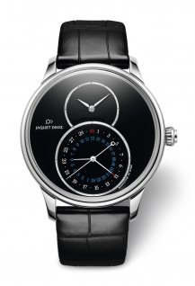 Grande Seconde Dual Time Onyx