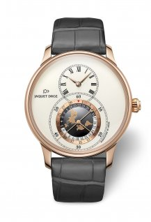 Grande Seconde Dual Time Ivory Enamel