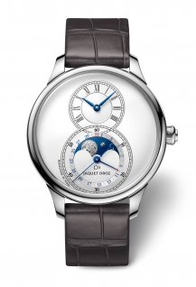 Grande Seconde Moon Silver