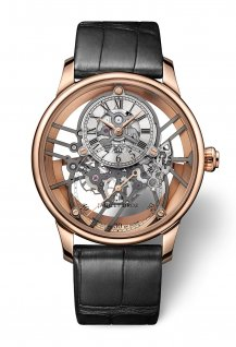 Grande Seconde Squelet-One Red Gold Sapphire