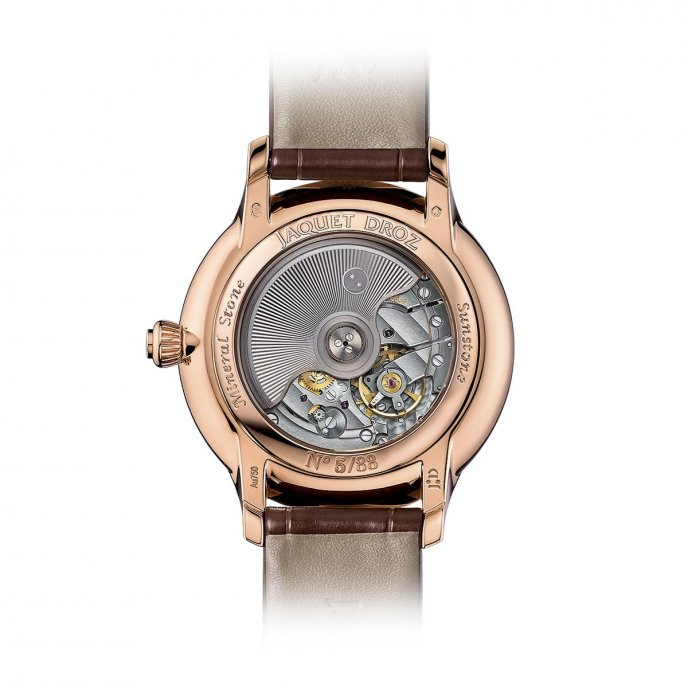 Jaquet Droz Grande Seconde Sunstone J014013340 watch back view