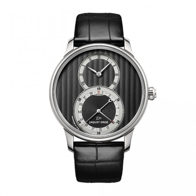Jaquet-Droz-legend-Geneva-grande-seconde-quantieme-J007010241-face-view