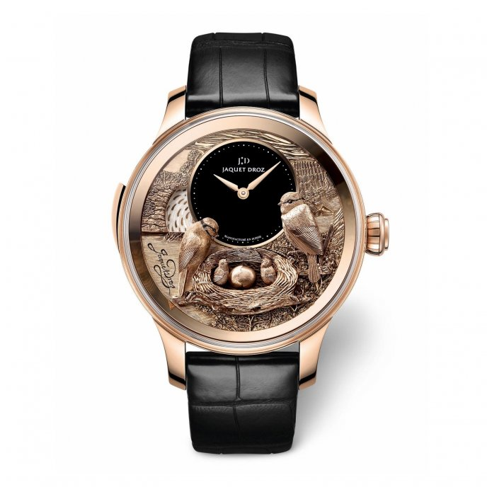 jaquet Droz The Bird Repeater watch-face-view