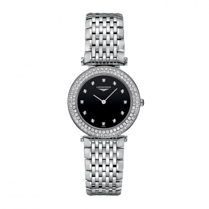 La Grande Classique de Longines 100 Diamonds L4.308.0.57.6 Face View