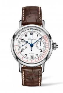 The Longines Column-Wheel Single Push-Piece Pulsometer Chronograph
