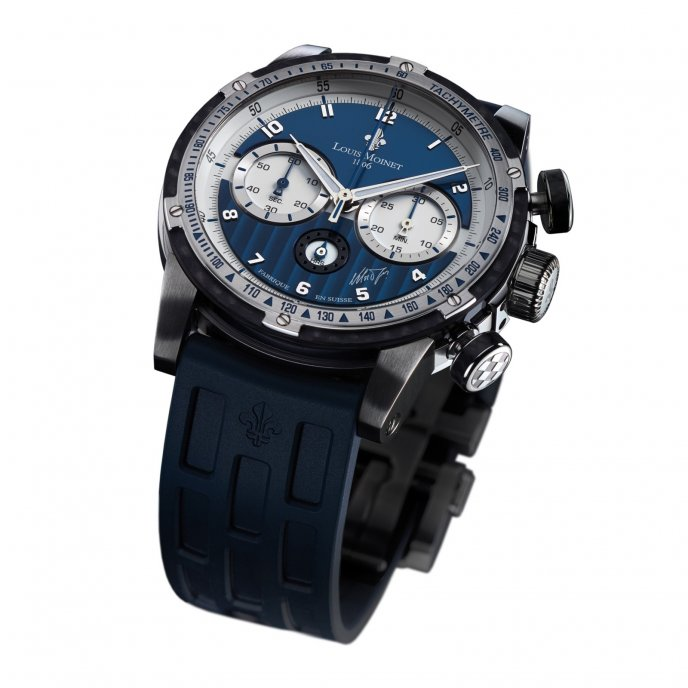 Louis Moinet - Legends - Nelson Piquet - LM-33.10.20/20 - Face