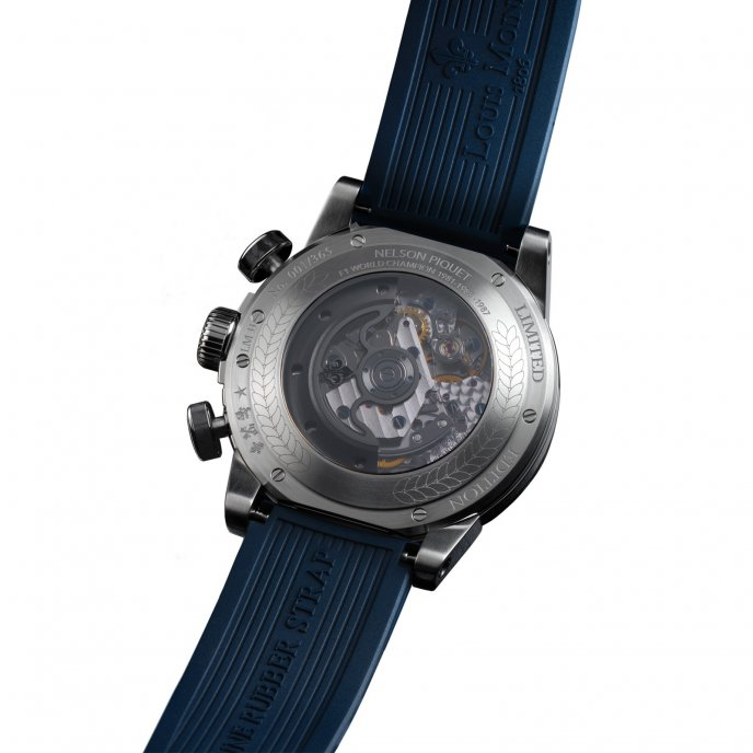 Louis Moinet - Legends - Nelson Piquet - LM-33.10.20/20 - Back