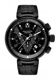 Tambour All Black Chronographe