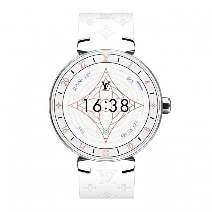 Tambour Horizon Monogram White