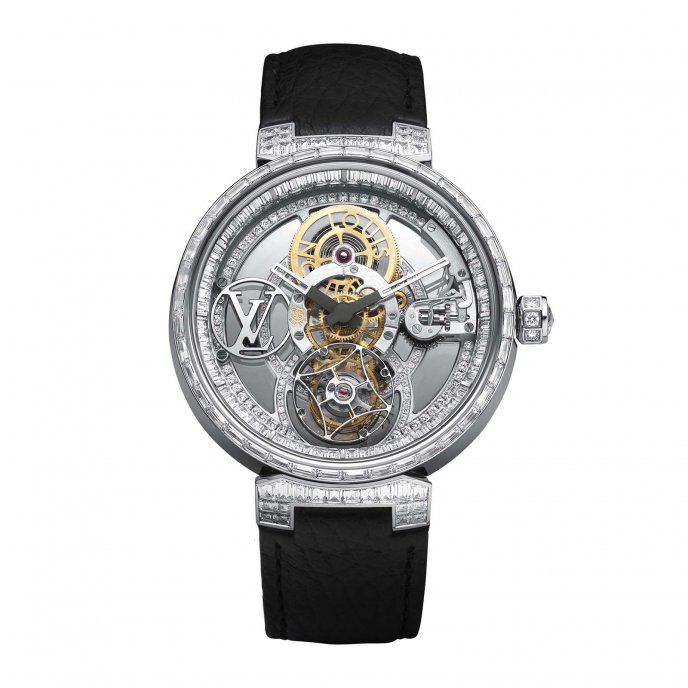 Tambour Moon Tourbillon Volant