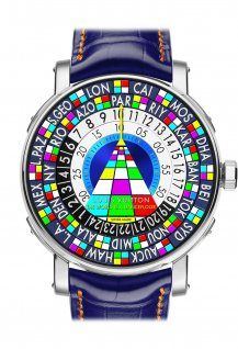 "Escale Worldtime Only Watch 2015 ""The world is a dancefloor"""