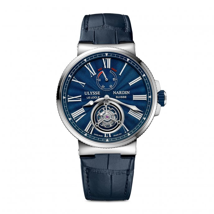 Marine Tourbillon Grand Feu Bleu
