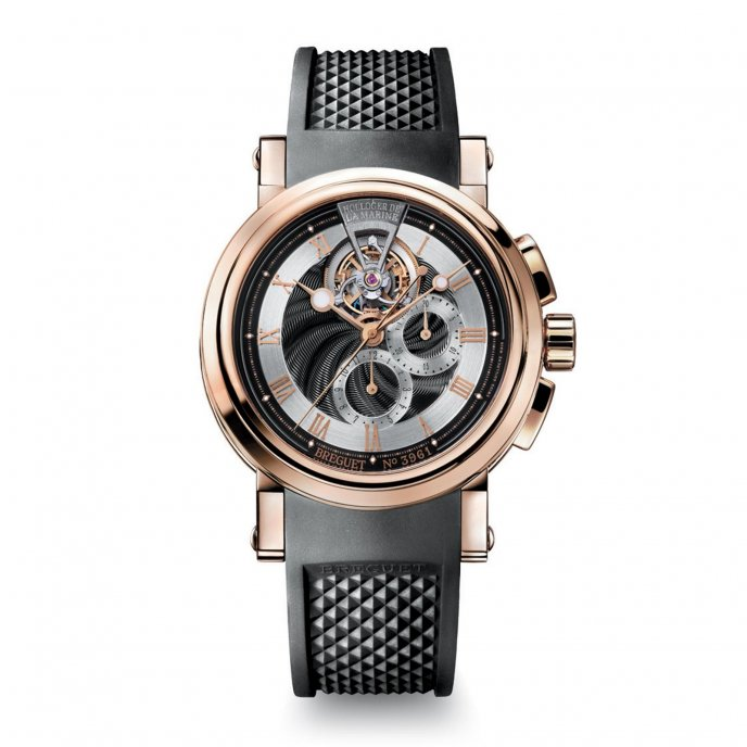 Breguet - Chronographe Tourbillon - 5837BR/92/5ZU - watch face view