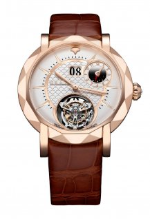 Grand Date Dual Time Tourbillon 43mm