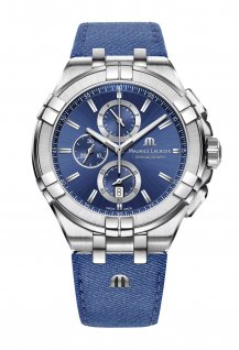 Aikon Chronograph Blue 44 mm